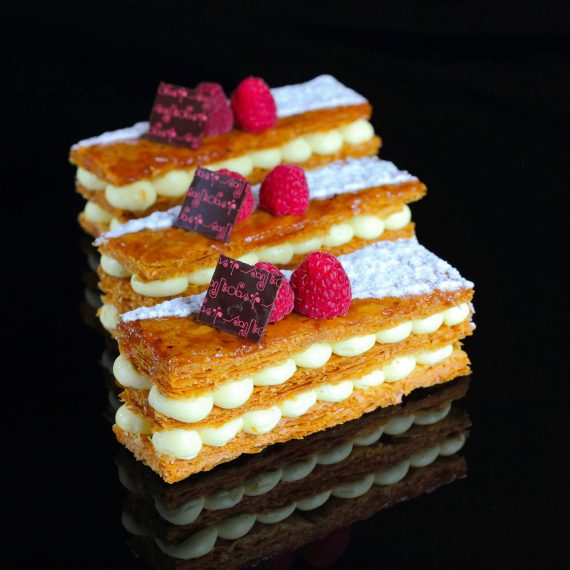 Photo HD Pâtisserie San Nicolas Bordeaux Mille Feuille