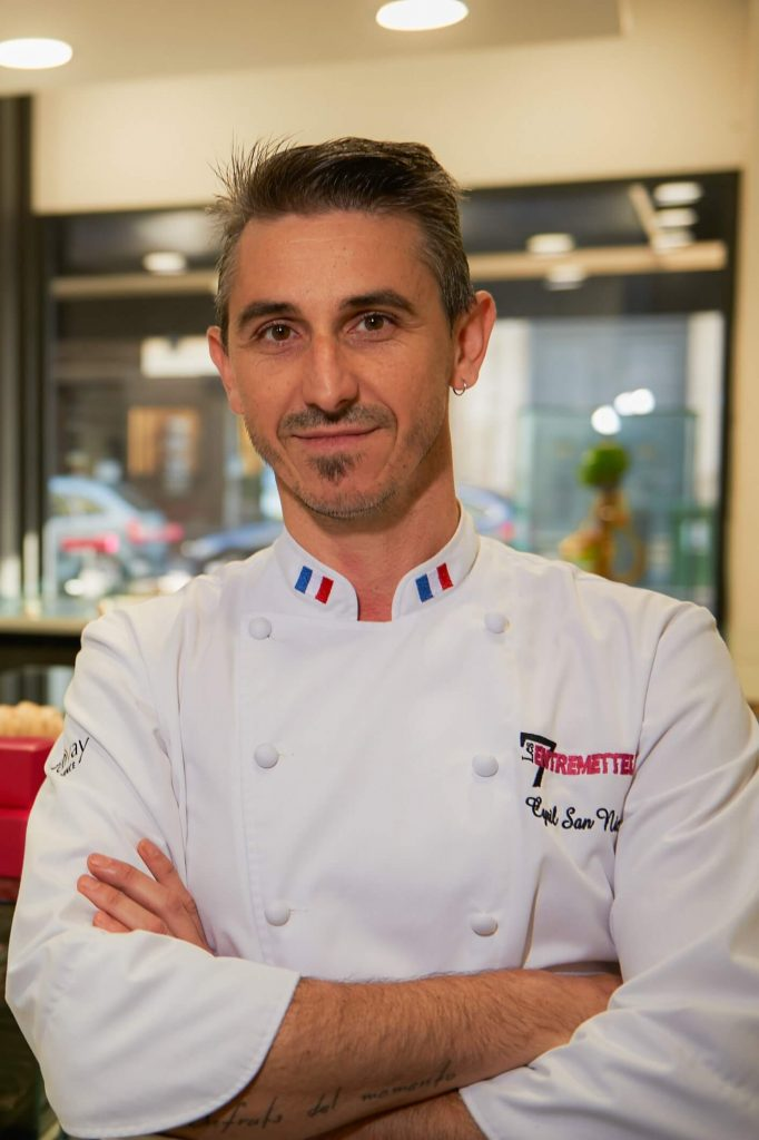 photo chef patissier cyril San Nicolas